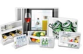 Tủ lạnh nhiều ngăn chứa tiện lợi