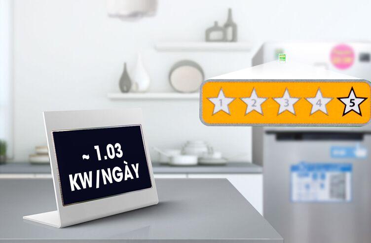 Mỗi ngày chiếc tủ lạnh này chỉ tốn khoảng 0.7 kW điện năng