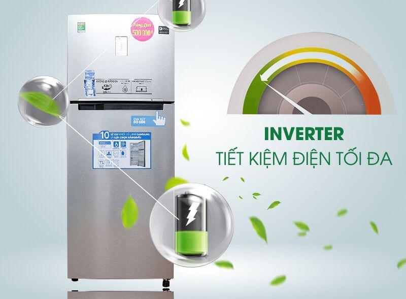 Công nghệ Inverter của tủ lạnh Samsung RT43H5231SL/SV giúp nó giảm thiểu sự hao phí điện năng