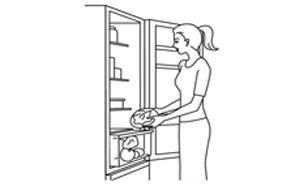 Bảo quản và sắp xếp thực phẩm dễ dàng