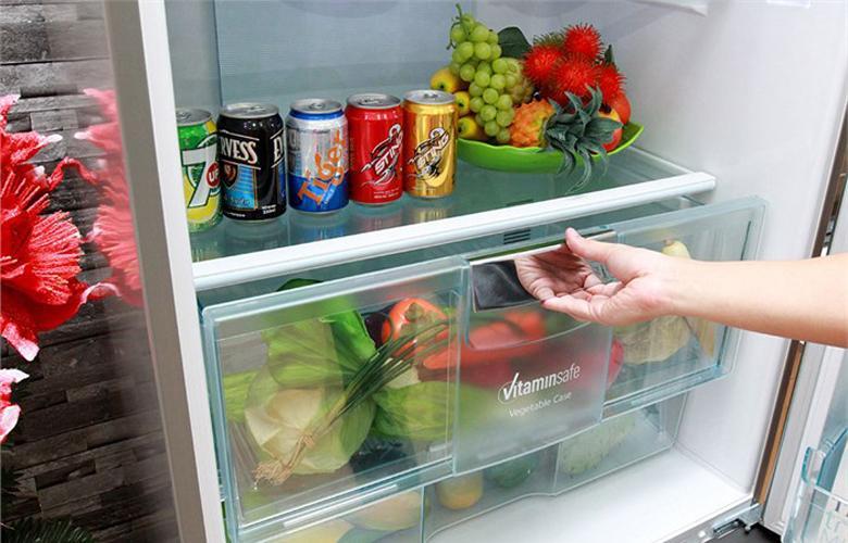 Ngăn rau quả có tính năng Vitaminsafe