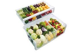 Độ ẩm tối ưu với lớp bảo vệ trên ngăn rau quả