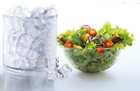 Hai ngăn lưu trữ rau quả
