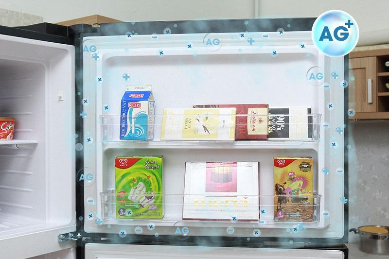 Cùng với sự bổ sung của đệm cửa chống nấm mốc, tủ lạnh Hitachi sẽ bảo quản thức ăn được tốt hơn