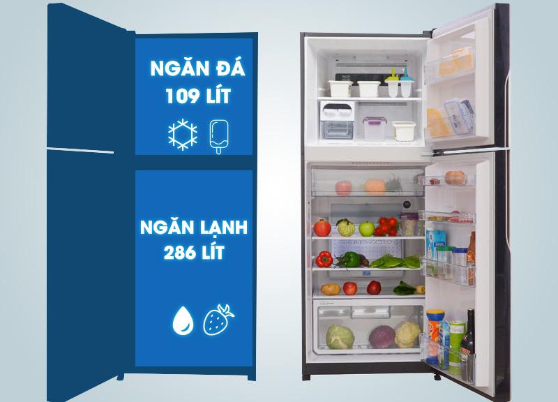 Với vẻ ngoài sang trọng và đẳng cấp, tủ lạnh Hitachi R-VG470PGV3 sẽ tạo nên sự hiện đại