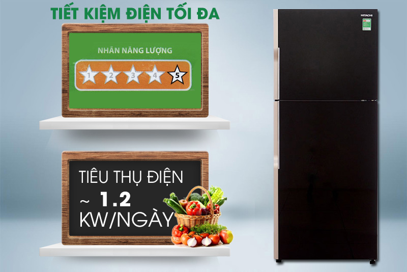 Tủ lạnh mang đến hiệu quả tiết kiệm điện cao