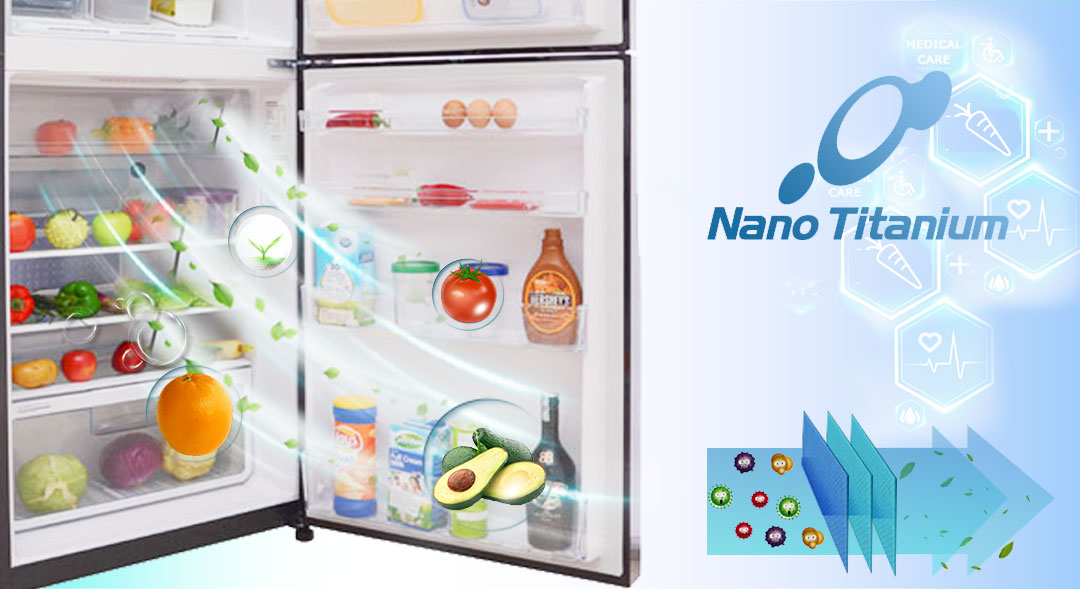 Màng lọc Nano Titanium giúp khử mùi và kháng khuẩn vượt trội