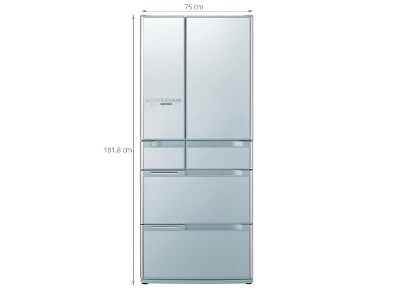 Thông số kỹ thuật Tủ lạnh Hitachi R-C6200S 644 lít