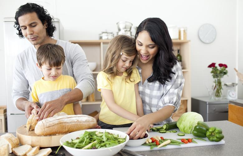Gia đình bạn thoải mái chế biến các món ăn nhờ nguồn thực phẩm tươi ngon