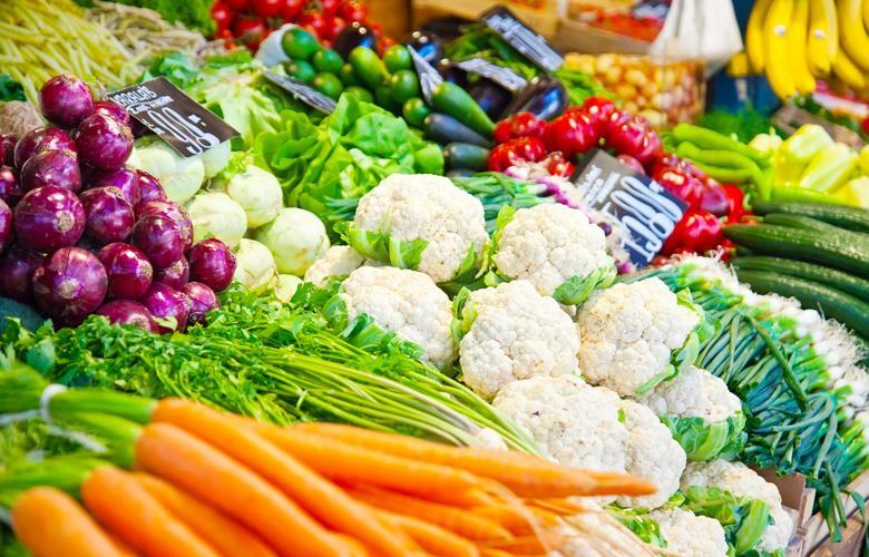 Ngăn rau quả giúp bạn thoải mái mua sắm rau củ