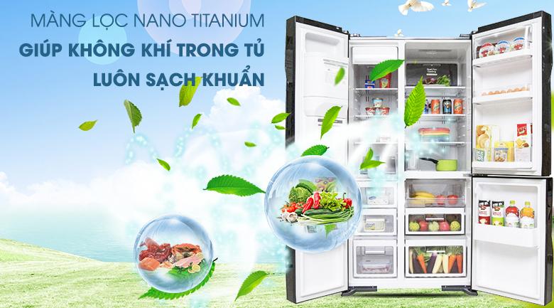 Công nghệ Nano Titanium tiên tiến - Tủ lạnh Hitachi Inverter 584 lít R-M700GPGV2 GBK