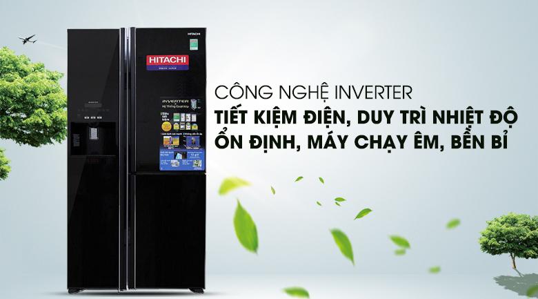 Công nghệ Inverter - Tủ lạnh Hitachi Inverter 584 lít R-M700GPGV2