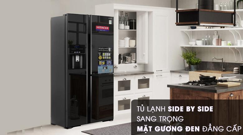 Thiết kế - Tủ lạnh Hitachi Inverter 584 lít R-M700GPGV2