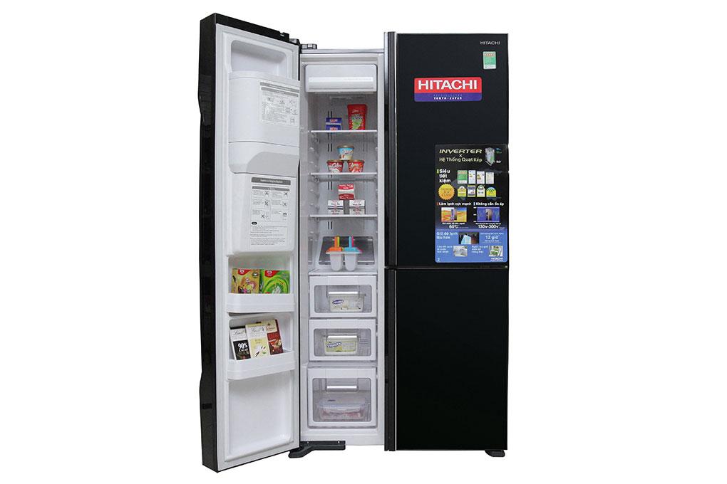 Tủ lạnh Hitachi Inverter 584 lít R-M700GPGV2 GBK hình 3