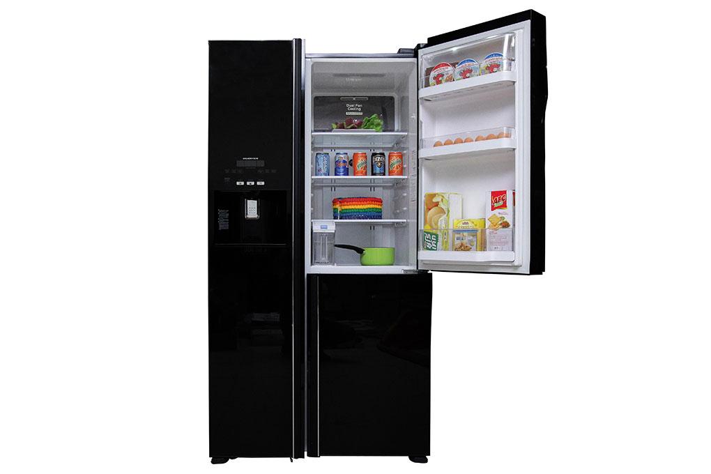Tủ lạnh Hitachi Inverter 584 lít R-M700GPGV2 GBK hình 4