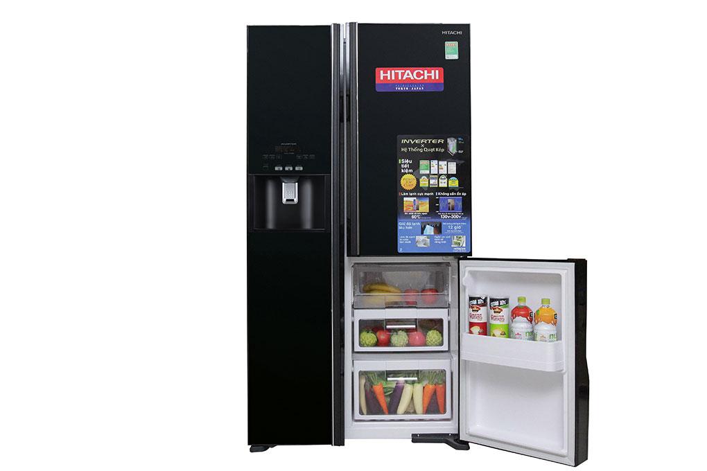 Tủ lạnh Hitachi Inverter 584 lít R-M700GPGV2 GBK hình 5