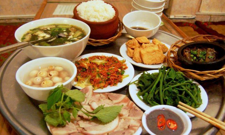 Thực phẩm luôn tươi ngon để tha hồ chế biến những món ăn hấp dẫn