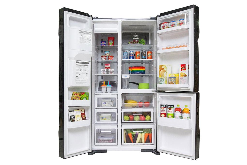 Tủ lạnh Hitachi Inverter 584 lít R-M700GPGV2 GBK hình 1