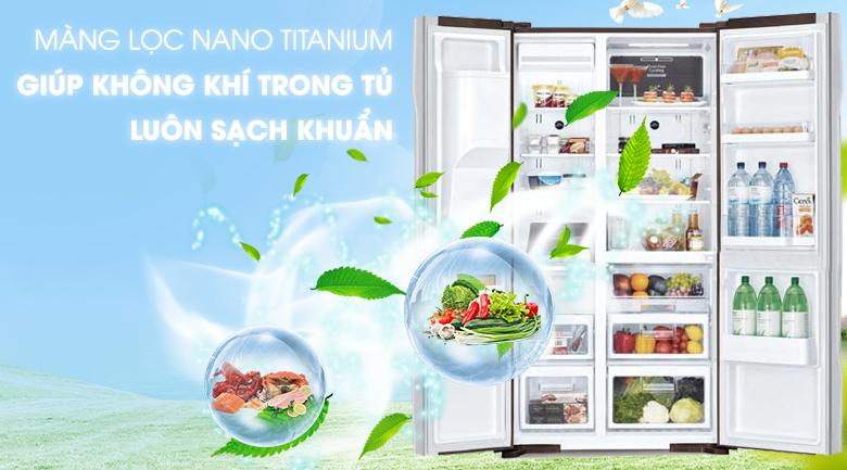 Công nghệ Nano Titanium khử mùi - Tủ lạnh Hitachi Inverter 589 lít R-S700GPGV2 GS