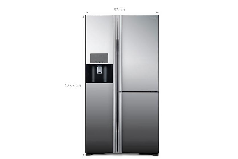 Thông số kỹ thuật Tủ lạnh Hitachi 584 lít R-M700GPGV2X