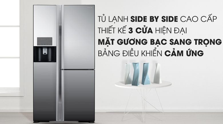 Tủ lạnh Hitachi Inverter 584 lít R-M700GPGV2X MIR