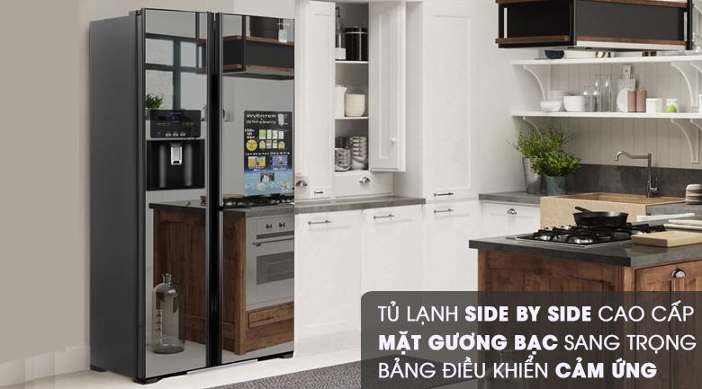 Thiết kế - Tủ lạnh Hitachi Inverter 584 lít R-M700GPGV2X