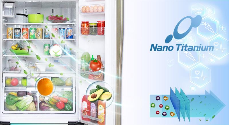 Công nghệ kháng khuẩn Nano Titanium