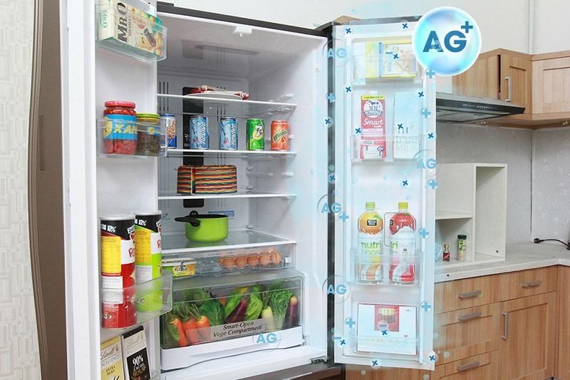 Đệm cửa của tủ lạnh Hitachi R-WB475PGV2 có thể chống nấm mốc