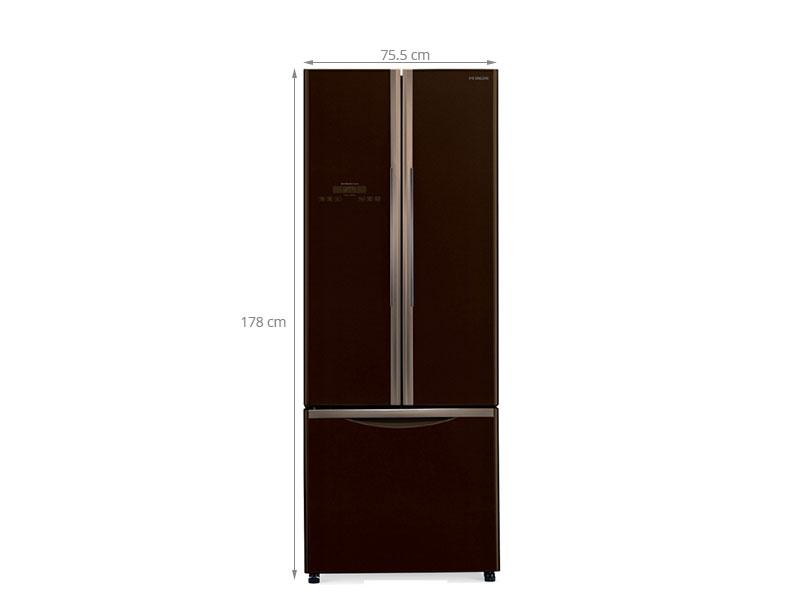 Thông số kỹ thuật Tủ lạnh Hitachi 455 lít R-WB545PGV2