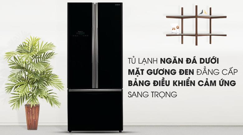 Tủ lạnh Hitachi Inverter 429 lít R-WB545PGV2 GBK