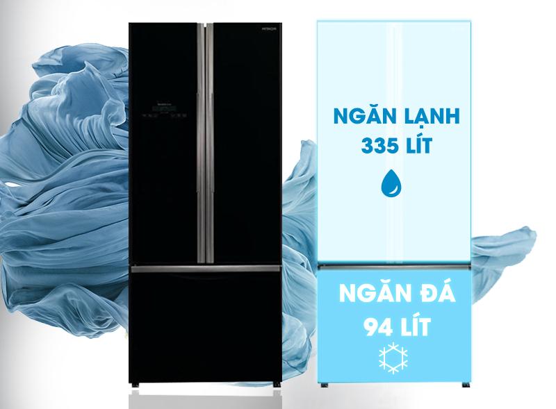 Tủ lạnh Hitachi R-WB545PGV2 sở hữu vẻ ngoài sang trọng và cá tính