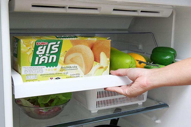 Ngăn làm lạnh kép Dual Cooling Zone dễ dàng kéo trược ra ngoài