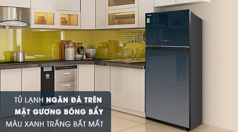 Thiết kế hiện đại - Tủ lạnh Toshiba Inverter 600 lít GR-WG66VDAZ