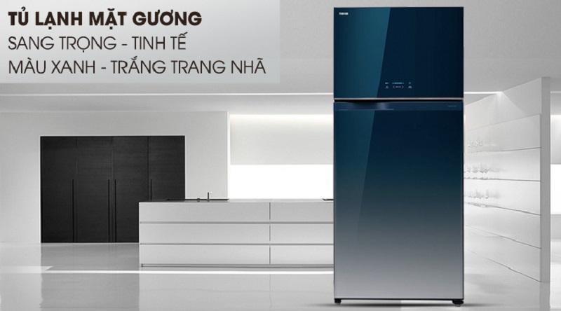Tủ lạnh Toshiba Inverter 600 lít GR-WG66VDAZ
