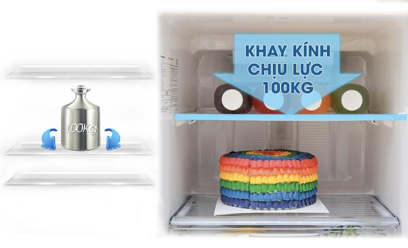 Khay kính chịu lực bền bỉ lên đến 100 kg