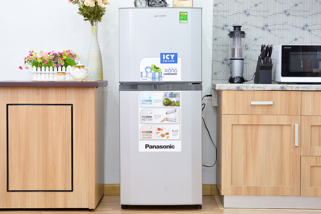 Tủ lạnh Panasonic NR-BM189SSVN – Làm lạnh nhanh với hệ thống làm lạnh Panorama