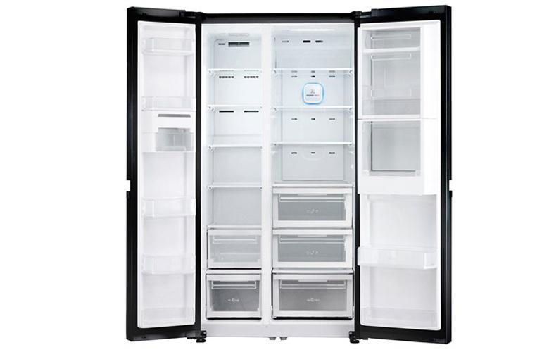 Thiết kế tủ lớn Side by side sang trọng