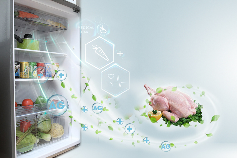 Công nghệ kháng khuẩn Ag Clean, kháng khuẩn tốt, khử mùi nhanh