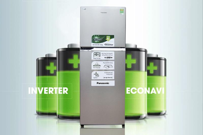 Tiết kiệm điện với công nghệ Inverter kết hợp cảm biến Econavi