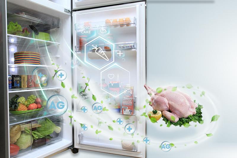 Công nghệ Ag Clean khử mùi, kháng khuẩn hiệu quả