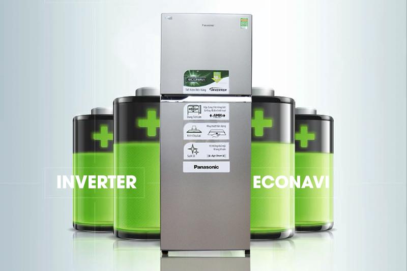 Tiết kiệm điện với máy nén Inverter và cảm biến Eco