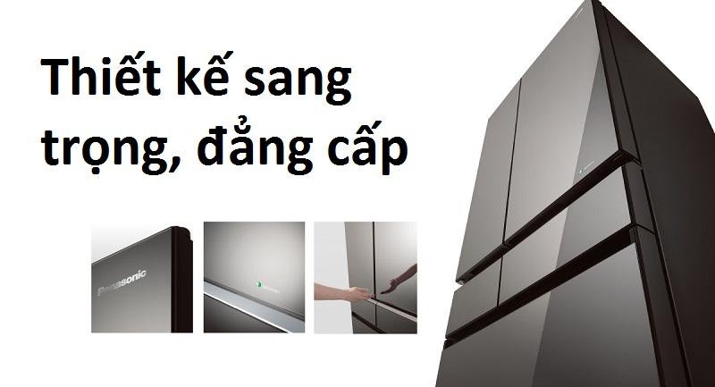 Thiết kế 6 cửa sang trọng, đẳng cấp
