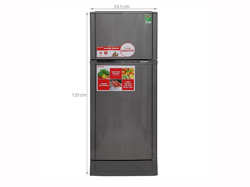 Thông số kỹ thuật Tủ lạnh Sharp 165 lít SJ-16VF2