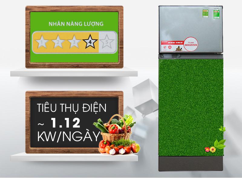 Tủ lạnh có khả năng tiết kiệm điện