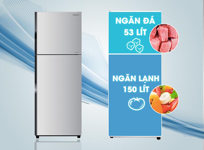 Tủ lạnh Hitachi R-H200PGV4 có thiết kế mang phong cách mới