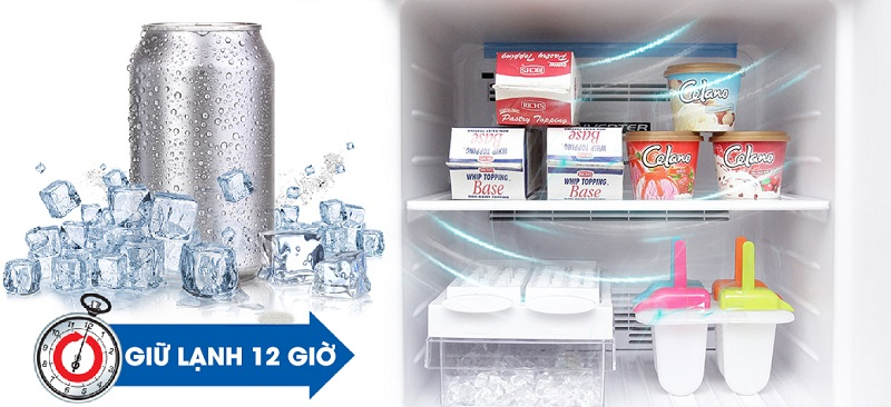 Đồng thời, khay đá xoay có thể di chuyển được sẽ giúp cho tủ lạnh thêm dễ sử dụng với người dùng