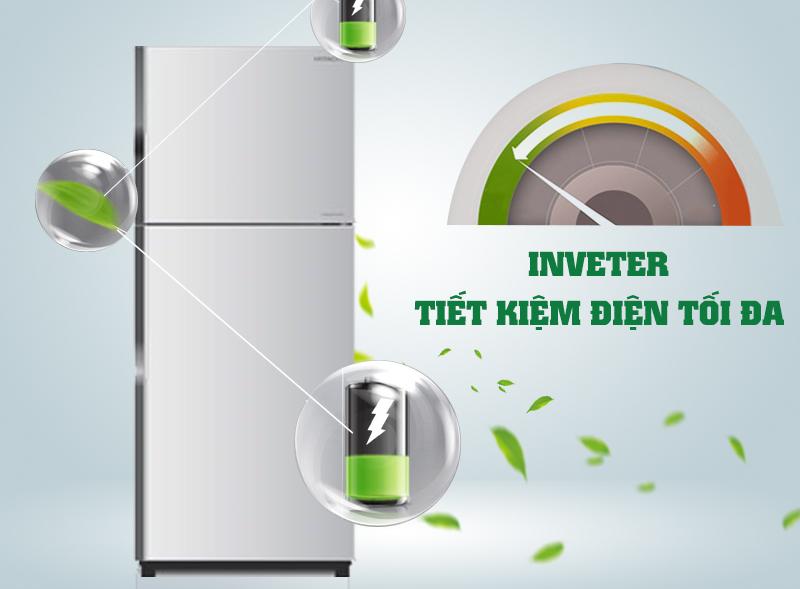 Tủ lạnh Hitachi R-H230PGV4 có công nghệ Inverter hiện đại