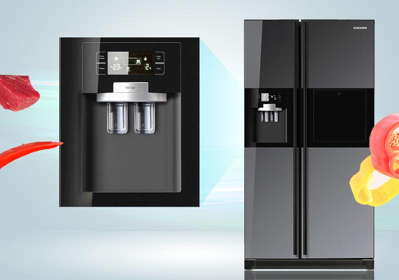 Bên cạnh đó, nhờ bảng điều khiển bên ngoài, bạn sẽ thấy dễ dàng sử dụng và tùy chỉnh chế độ cho tủ lạnh Samsung RSH5ZLMR1/XSV hơn