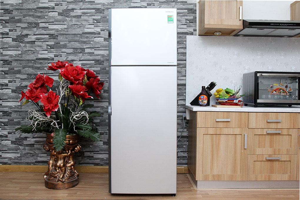 Tủ lạnh Hitachi R-H350PGV4 SLS- Tiết kiệm điện năng với máy nén biến tần Inverter hiện đại
