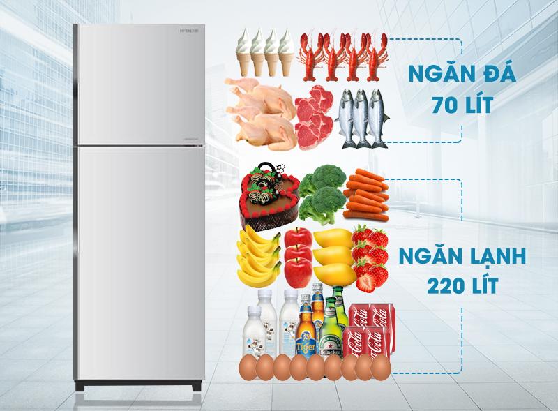 Với thiết kế mới độc đáo cùng màu sắc thú vị, tủ lạnh Hitachi R-H350PGV4 sẽ đem đến cho người dùng một không gian nội thất thật sinh động